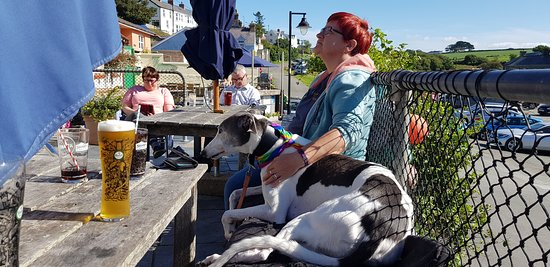 Porthgain, UK: Chilling at the Sloop