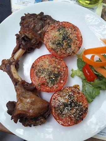 La Petite Maison : anatra con pomodori alla provencale