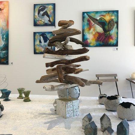 Helsinge, Denmark: Keramik og Kunst i Kunsthuset Nordsjælland