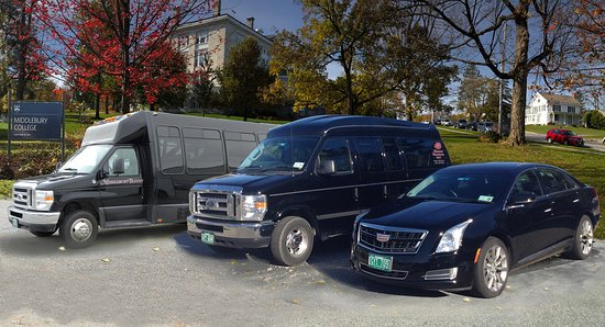 Middlebury, VT: A few of the wide variety of vehicles in our extensive fleet.