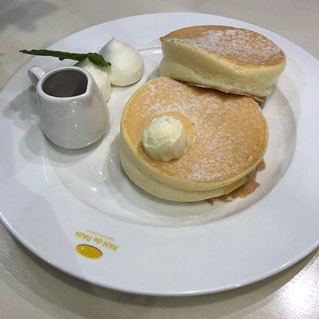 美味的梳乎厘pancake