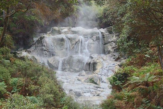 Tikitere, نيوزيلندا: Cascate