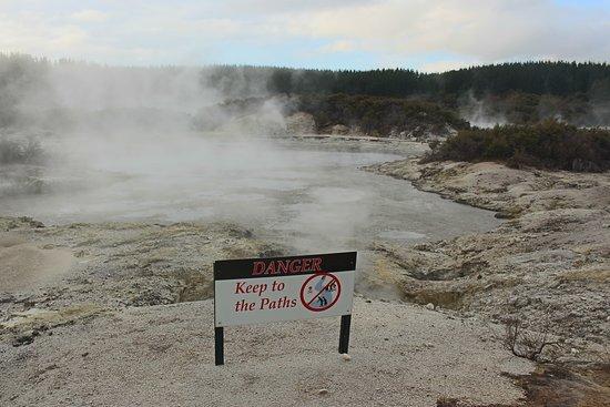 Tikitere, نيوزيلندا: Hot Lake