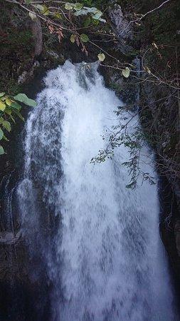Gollinger Wasserfall: Weiter oben am Wasserfall