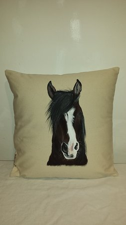 Ginger Loves Colors: Cavallo su cuscino!