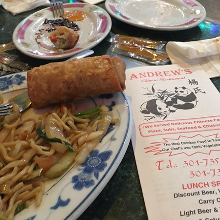 Suitland, MD: Andrew's Restaurant