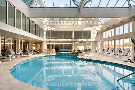 Indoor Pool Picture Of Doubletree By Hilton Ocean City Oceanfront Tripadvisor