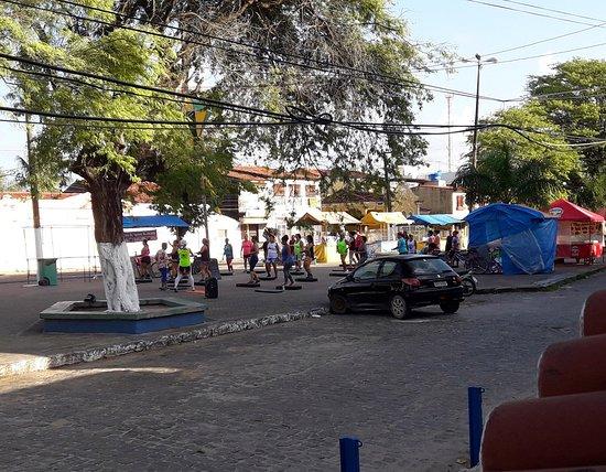 Itamaraca Beach: Praça do Pilar