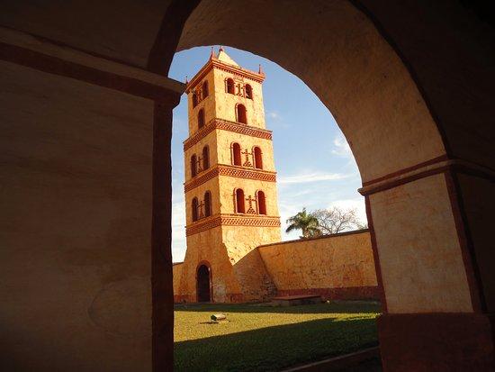 San Jose de Chiquitos, Bolivia: desde el interior