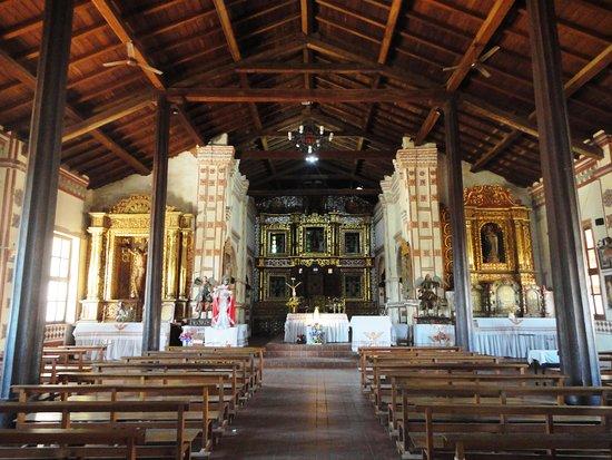 San Jose de Chiquitos, Bolivia: Interior