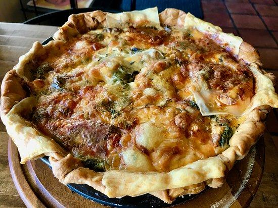 Cottonwood Heights, UT: vegetable quiche