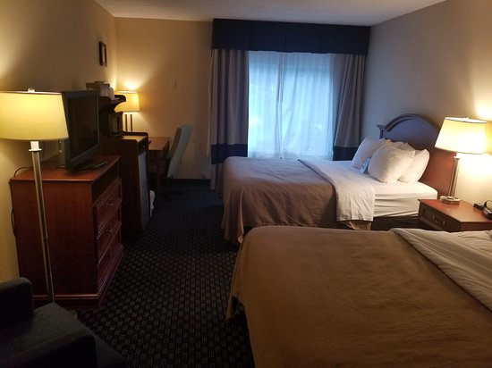 View Of My Room From The Door Comfort Inn Greece Ny Picture Of Comfort Inn Suites Rochester Niagara Falls Tripadvisor