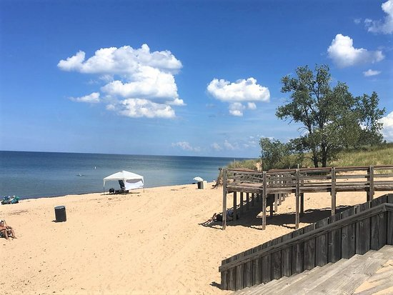 Indiana Dunes National Lakes West Beach At Lovely
