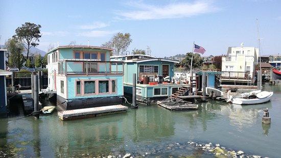 Sausalito Floating Homes Tour San