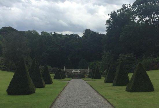 Plas Cadnant Hidden Gardens: Entrance view