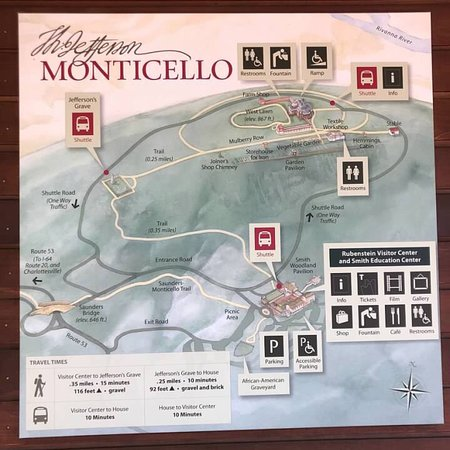 Monticello, residencia de Thomas Jefferson: August 2018