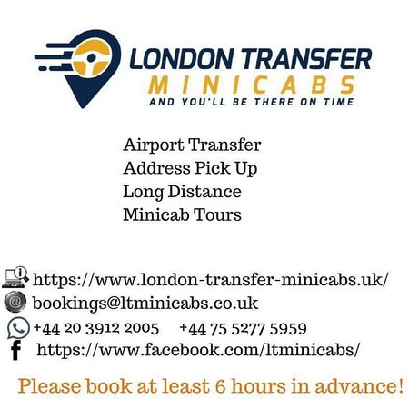 London Transfer Minicabs