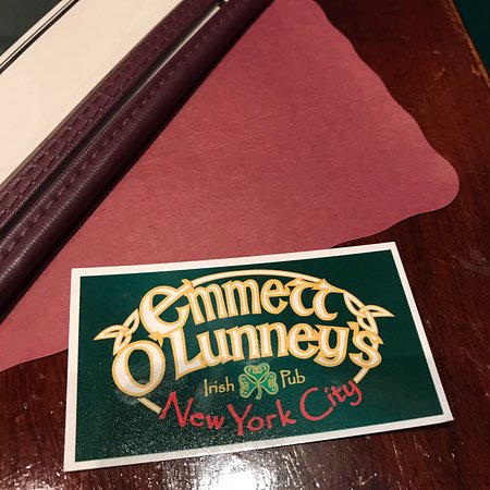 Specials business card interior picture of emmett olunneys emmett olunneys irish pub specials business card interior reheart Images
