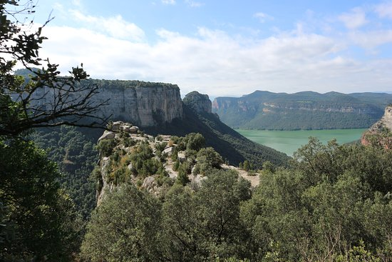 Tavertet, Spain: Morro De L'abella cliff, viewpoint