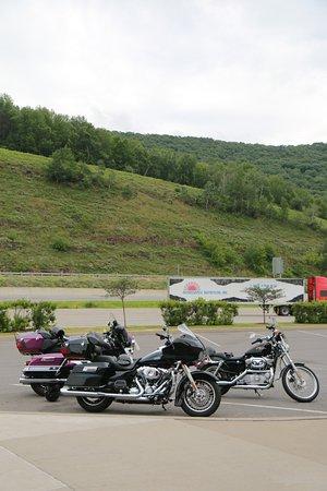 The Pennsylvania Welcome Center along U.S. Route 15, Tioga, Pa.
