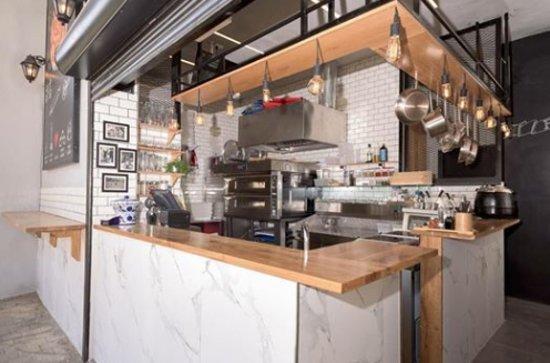 Distrito de Haifa, Israel: Open Kitchen