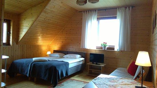 Miedzywodzie, Polen: Gabi Mrzezyno, pokoj w domu z bala