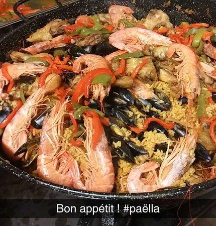 Paella anniversaire espagnol