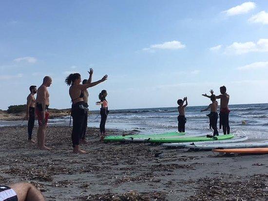 Putzu Idu, Италия: LEZIONE SURF