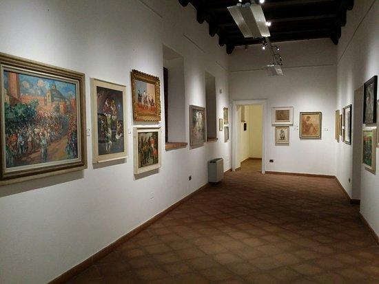 Oristano, Italie : Interno Pinacoteca