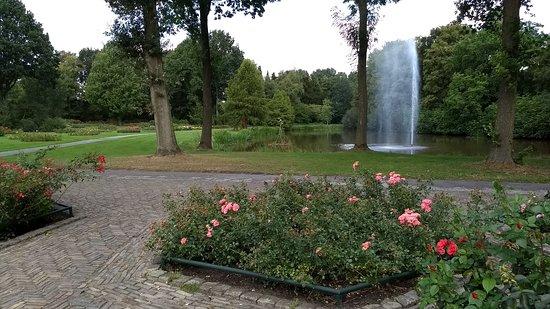 Winschoten, The Netherlands: vijver met fontein