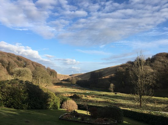 Barle Valley from Simonsbath House - early evening