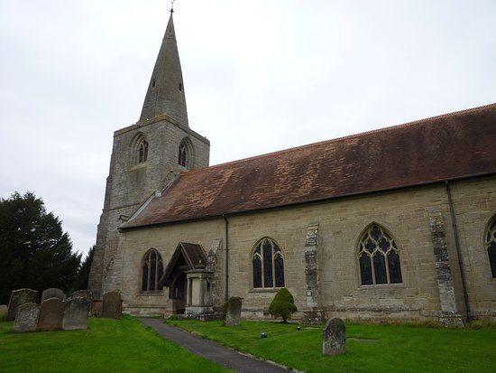 Tanworth in Arden, UK: The Church and Bell Tower