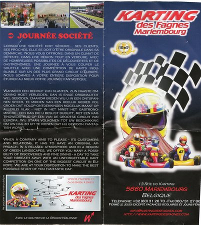 promo du karting