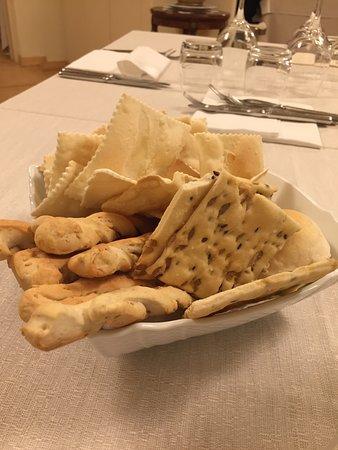 Арджелато, Италия: Cestino del pane