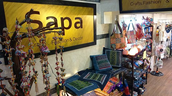 Sapa silk, crafts & fashion