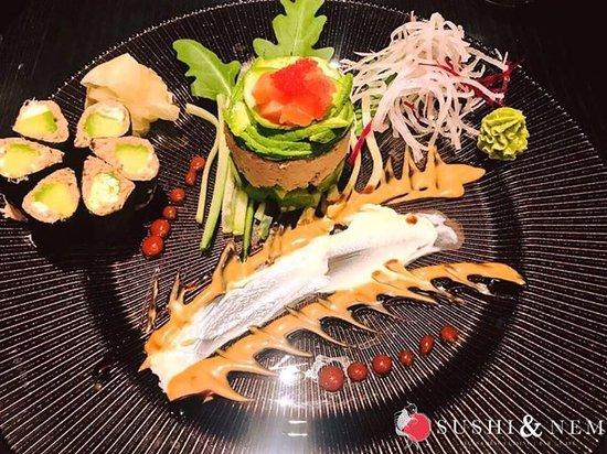 Freuen Sie sich auf ein leckeres Dinner bei Sushi & Nem Kempten.