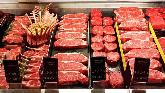 Quakertown Farmers Market: Fresh Butcher Cut Meats - Davis Meats Dept. #244 & Frederick's Meats Dept. #440