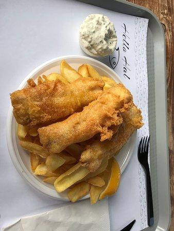 Tiszafured, Hungría: Fish & chips