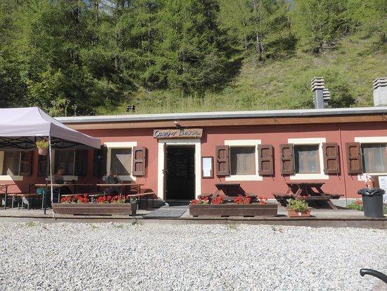 Acceglio, Италия: Il rifugio campo base