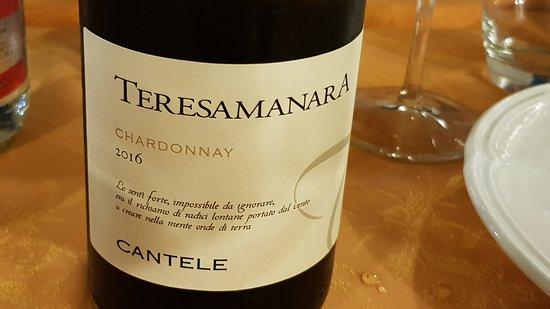 San Ferdinando di Puglia, İtalya: Wein Hauptgericht