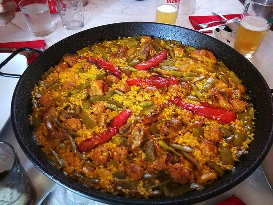 Bellus, Испания: Paella