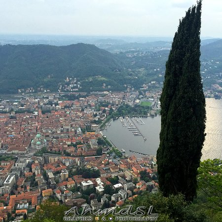 Top View Over Como From Brunate 3