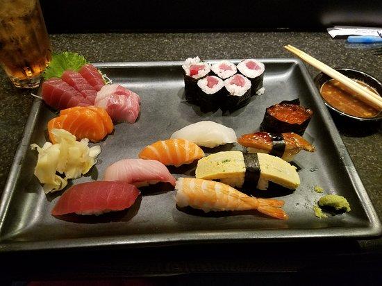 Jinbeh Japanese Restaurant: Sushi