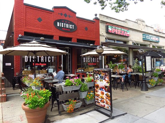 Patio Picture Of District Kitchen Washington Dc Tripadvisor