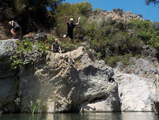 Team Xtreme : Canyoning