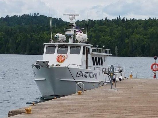 Windigo Visitor Center: Minnesota ferry.
