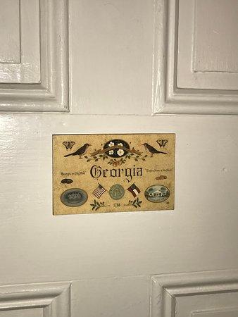 Georgia Room door