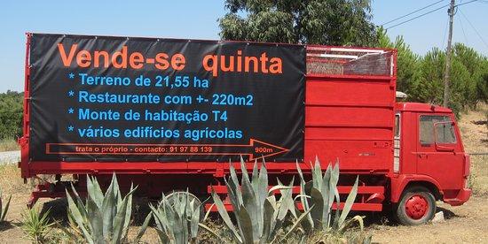 Alqueva, Portugal: O Restaurante está fechado porque está a venda - the Restaurant is closed as it is for sale