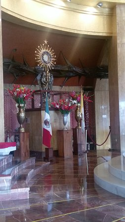 Interior del Santuario de Cristo Rey