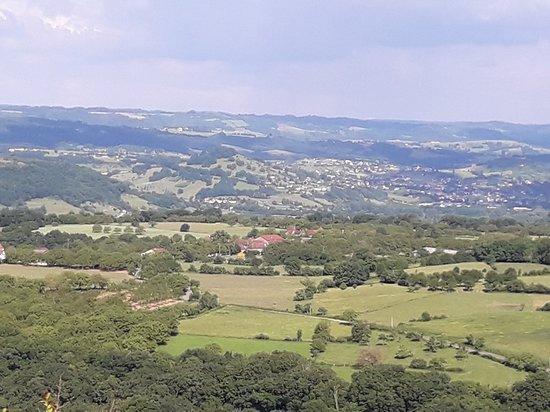 Loubressac, França: Overlooking Dordogne Valley